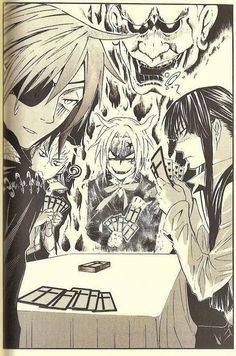 Tags: Anime, Scan, D.Gray-man, Allen Walker, Lavi, Yuu Kanda