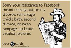 Facebook resistance