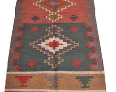 India Hand Made Wool Jute Rug Decorative Rugs Area Rag Place Mat Indiarugs Pinterest