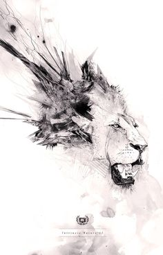 The Nature of the Beast Collaboration by Billelis , via Behance