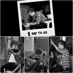 just captured the sneak peek of #LittleThings 1 Day To Go with Harry :)