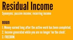 #directselling #networkmarketing #residualincome
