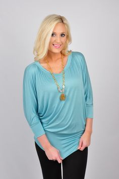 Everyone loves a good relaxing Sunday. Whether you're casually running errands or enjoying your time on the couch watching Netflix, our Sunday Lovin Top is perfect for all of your festivities. This top has quarter sleeves, a V-neck neckline, and is made out of 96% Rayon and 4% Spandex. Hand-wash cold. Hang dry. Made in the USA.
