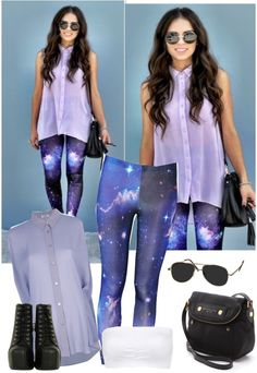 """""""Galaxy"""" by directionerwithsass ❤ liked on Polyvore"""