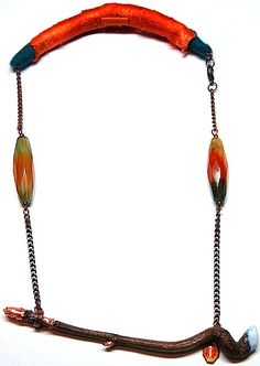 Necklace with a story by Lezerman, via Flickr