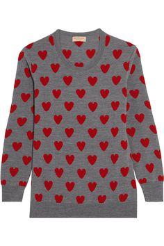 Burberry | Intarsia wool sweater | NET-A-PORTER.COM
