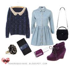 Y. A. Q. - Blog de moda, inspiración y tendencias: [Y ahora qué me pongo con] Unos botines morados