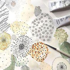 Sara Boccaccini MeadowsさんはInstagramを利用しています:「Lichen #illustration @ohmyhome」