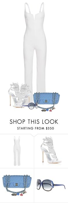 """Untitled #557"" by tresfancy ❤ liked on Polyvore featuring Giuseppe Zanotti, Chanel and Gucci"