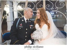 Disney Wedding, Walt Disney World, Bride, Groom,military, U.S. Army, Disney, wedding, Cinderella, Cinderella's Coach, brooch bouquet