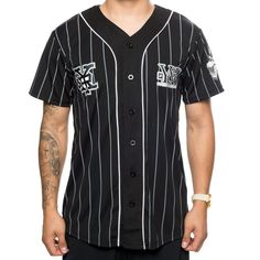 RECKLESS TEAM BASEBALL JERSEY – Young And Reckless