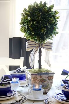 A Boxwood Topiary ce
