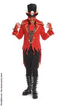 Underworld Ringmaster Devil Adult Costume  $71.55