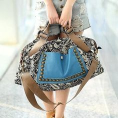 GET $50 NOW | Join RoseGal: Get YOUR $50 NOW!http://www.rosegal.com/tote/ethnic-style-rivets-and-splice-85185.html?seid=6475716rg85185