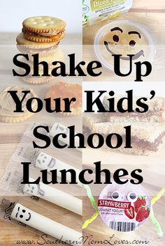 Southern Mom Loves: How to Shake Up Your Kids' School Lunches (and Save a Bundle too) + a $25 Gift Card Giveaway! Ends 9/14
