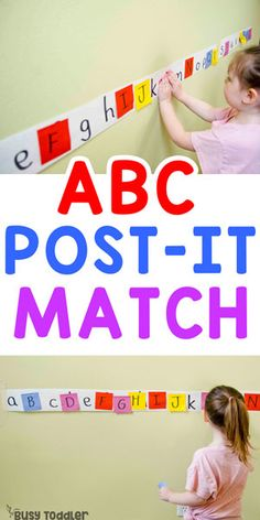 Easy Post-It Matching Activity busytoddler toddler toddleractivity easytoddleractivity indooractivity toddleractivities preschoolactivities homepreschoolactivity playactivity preschoolathome 630222541581615699