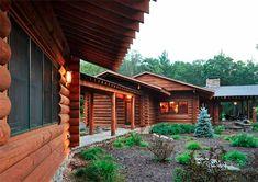 adding on to a log home