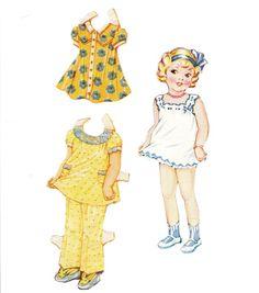 Dainty Dolls for Tiny Tots, 1946 - Barbara