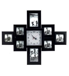 Merveilleux Wall Clocks With Photo Frames   Whou0027s Heard The Phrase Thereu0027s Not  Sufficient Time In The Evening?