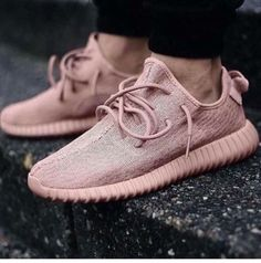 Wheretoget - Pastel pink sneakers