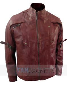 """""""Guardians Of The Galaxy"""" Star Lord Jacket Replica"""
