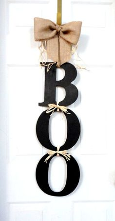 BOO – Halloween Wreath @ The fever List