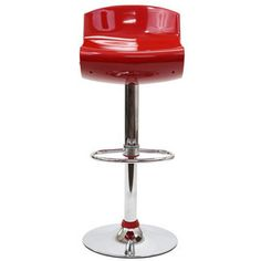 Modway Furniture  Dazzle Bar Stool in Red - EEI-202