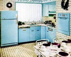 Kitchen (1956) | Flickr - Photo Sharing! Mid century modern