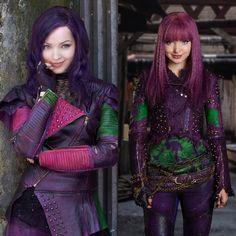 Descendants and Descendants 2 what Mal do you like. #1 or #2  #Mal