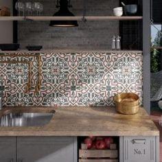 TILES Archives - Project Tiles & Wood House Tiles, Wall And Floor Tiles, Wall Tiles, Chic Bathrooms, Floor Patterns, Tile Design, Porcelain Tile, Decoration, Home Kitchens