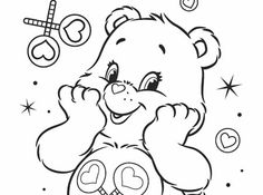 care bears coloring pages printables