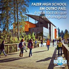 Conheça nossas filiais e saiba mais sobre o High School: www.agenciamundi.com.br
