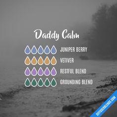 Daddy Calm - Essential Oil Diffuser Blend