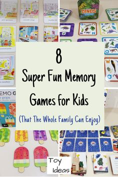 Creative Activities For Kids, Easy Crafts For Kids, Toddler Crafts, Toddler Toys, Learning Activities, Memory Games For Kids, Games For Toddlers, School Age Games, Classic Card Games
