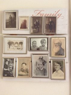 My own home-made family-pinboard
