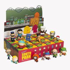 vinyl toy, south park, park mini, parks, toys, minis, box, mini seri, kidrobot