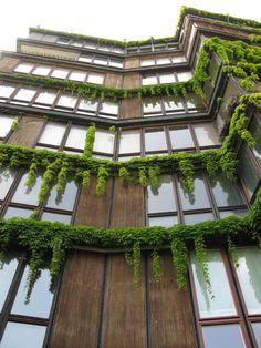 Condominio in Via Quadronno degli architetti Angelo Mangiarotti e Bruno Morassutti (1956-'60): grazie alla prefabbricazione degli elementi della facciata l'utente può decidere il grado …