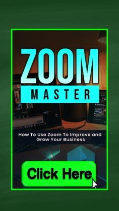 ZOOM MASTER Training Guide (E-Book) + Cheat Sheet, Sales Pages, Images and more + MRR (Master Resale Rights). You will learn in this guide: -what Zoom is and offers -how you can use Zoom effectively in your business -the tips and tricks that Zoom masters use to get the best results from it -how to set your webinars up the right way and provide a high value delivery so that your attendees will turn into customers -the best strategies and tactics to increase engagement #zoom #webinar… Online Marketing Tools, Online Marketing Strategies, Digital Marketing Strategy, Business Marketing, Internet Marketing, Social Media Marketing, Online Business, Cheat Sheets, Cheating