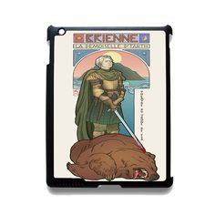 Brienne Game Of Thrones TATUM-2095 Apple Phonecase Cover For Ipad 2/3/4, Ipad Mini 2/3/4, Ipad Air, Ipad Air 2