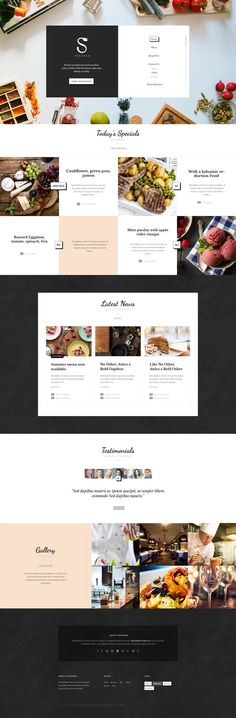 Spooner – Restaurant & Bar WordPress Theme in Web design