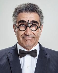 Eugene Levy by Matt Hoyle Late Night Comedians, Inside The Actors Studio, Eugene Levy, Funny Senior Pictures, Great Comedies, Actor Studio, Popular People, Face Photography, Figurine