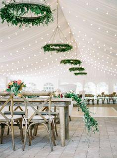 Breathtaking Sun Valley Wedding in the Idaho Mountains - MODwedding Article Gallery Ideas] Marquee Wedding, Tent Wedding, Mod Wedding, Wedding Table, Dream Wedding, Picnic Weddings, Wedding Ceiling, Wedding Picnic, Wedding Lighting
