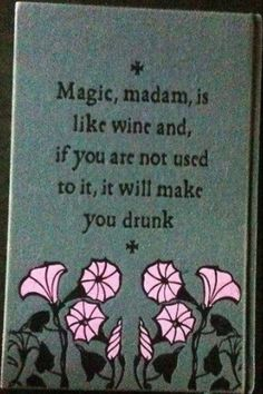 Magical Quote   Magick   Vintage Book   Magic Hardcover   Retro Flowers   Illustration   Witchy   Witchcraft   Pagan   Fantasy   Fairytale