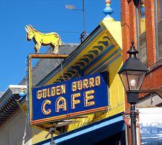 Golden Burro Cafe. Leadville, Colorado by Vintage Roadside, via Flickr