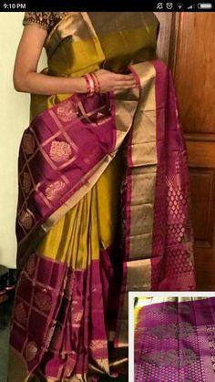 Kanchi soft silk sarees Order what's app 7995736811