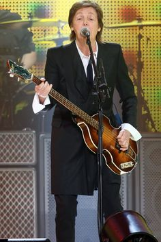 Paul McCartney-in Milwaukee-about two weeks away...I'll be there!