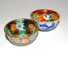 Vintage sauce bowl decorative bowls Japanese by FeliceSereno, $18.00