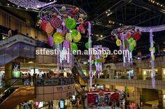 2015 Рождество конфеты торговый центр висячие украшения