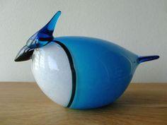 iittala イッタラ バード BLUE JAY 2003 USA BIRDS BY TOIKKA