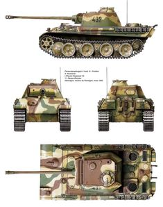 Panther Ausf. G, 11th Panzer Division, Remagen, 1945